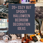 20+ Cozy but Spooky Halloween Bedroom Decoration Ideas