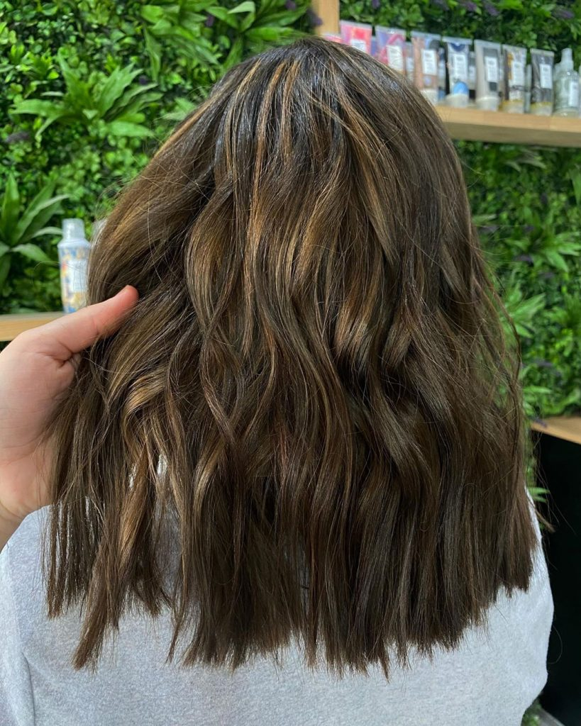 Try This Adorable Brown Hair With Highlights Ideas To Change Your Look 10
