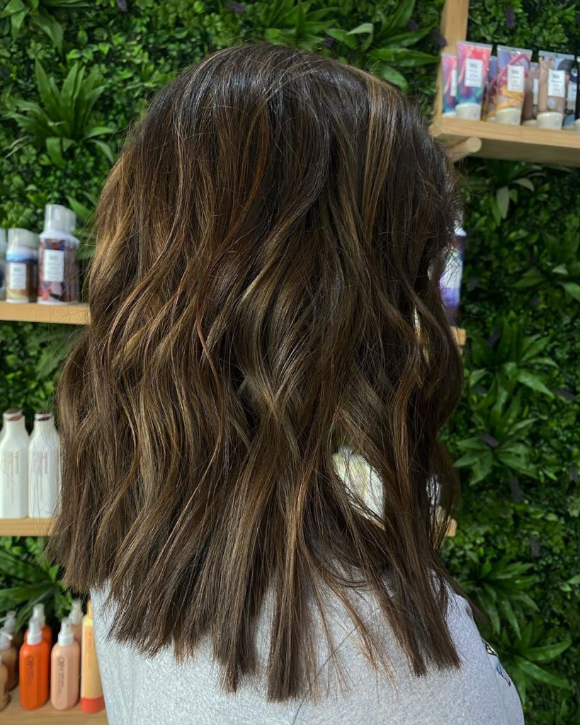 Try This Adorable Brown Hair With Highlights Ideas To Change Your Look 18