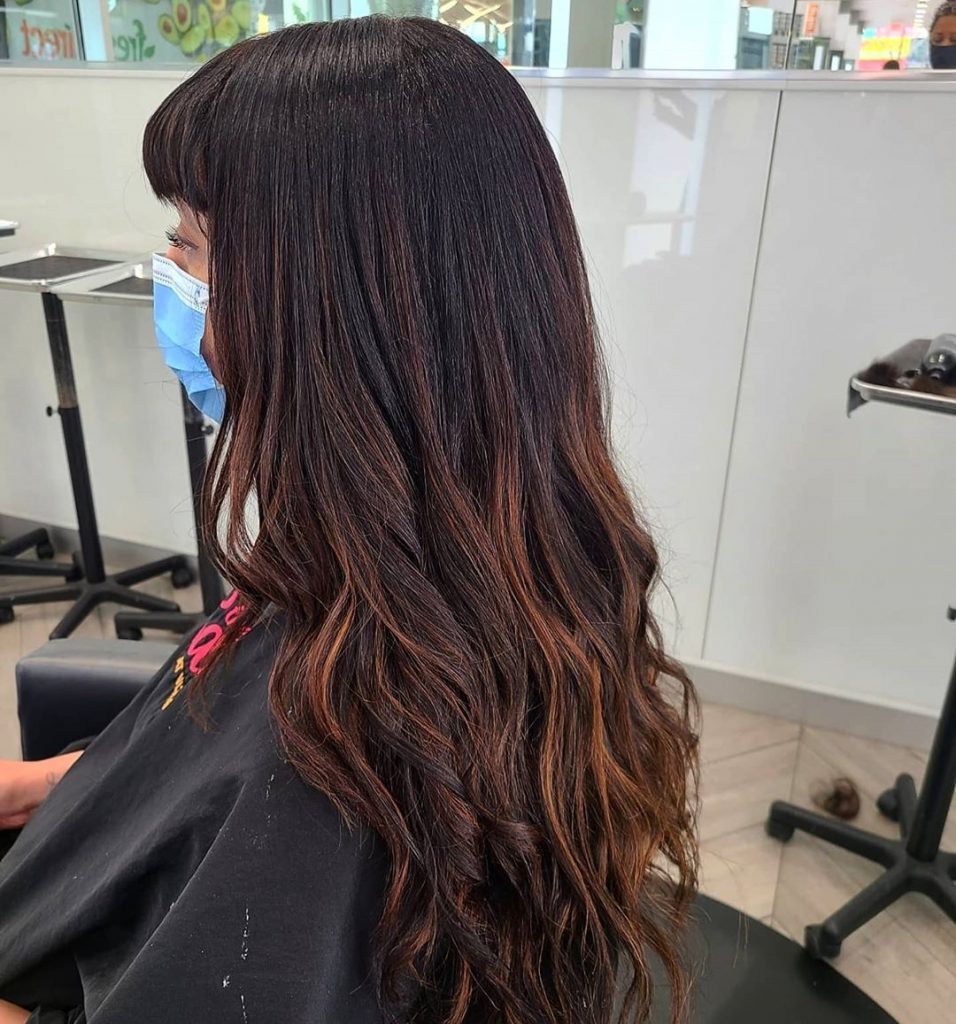 Try This Adorable Brown Hair With Highlights Ideas To Change Your Look 2