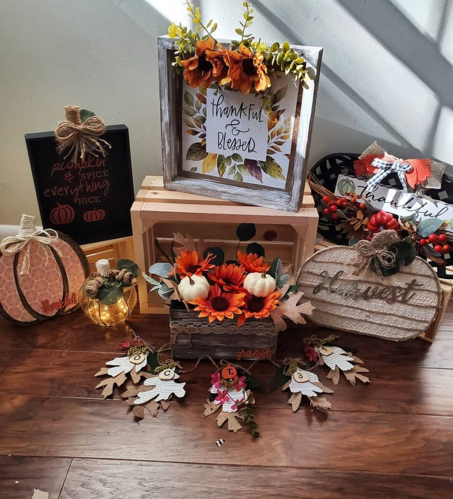 100 Adorable DIY Fall Home Decoration Ideas On A Budget 24