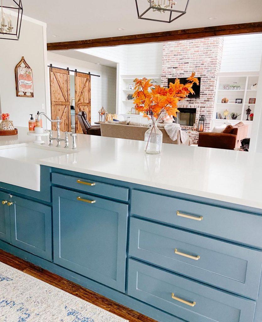 100 Amazing Rustic Farmhouse Design Interior Ideas Suitable For Fall Season 1