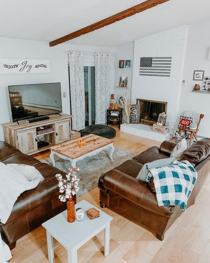 100 Amazing Rustic Farmhouse Design Interior Ideas Suitable For Fall Season 100