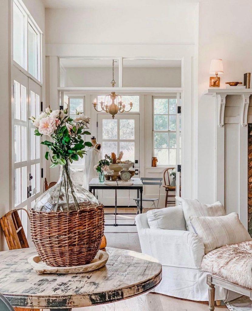100 Amazing Rustic Farmhouse Design Interior Ideas Suitable For Fall Season 2