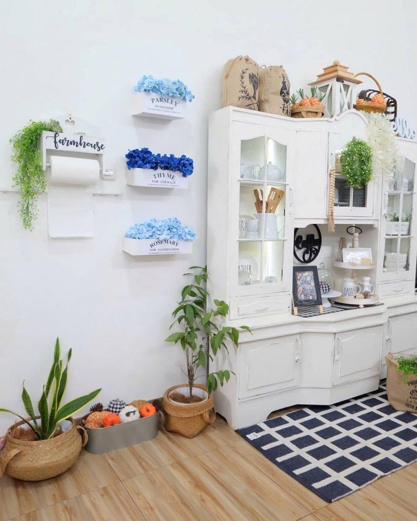 100 Amazing Rustic Farmhouse Design Interior Ideas Suitable For Fall Season 27