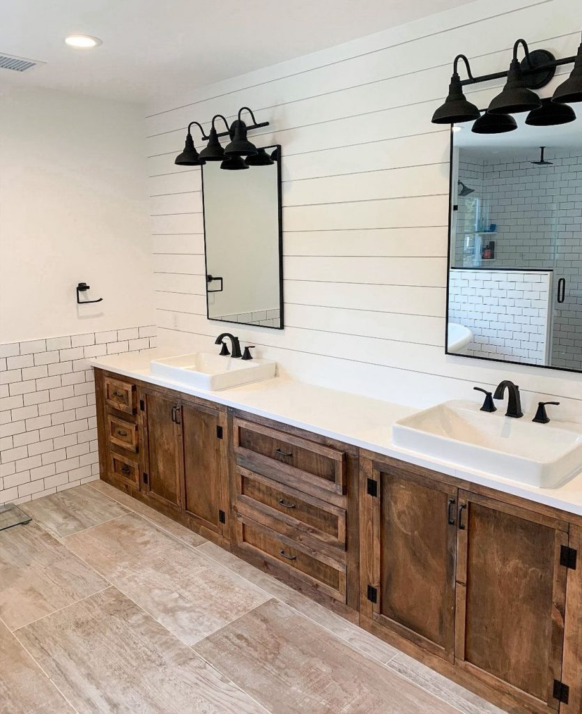 100 Amazing Rustic Farmhouse Design Interior Ideas Suitable For Fall Season 60