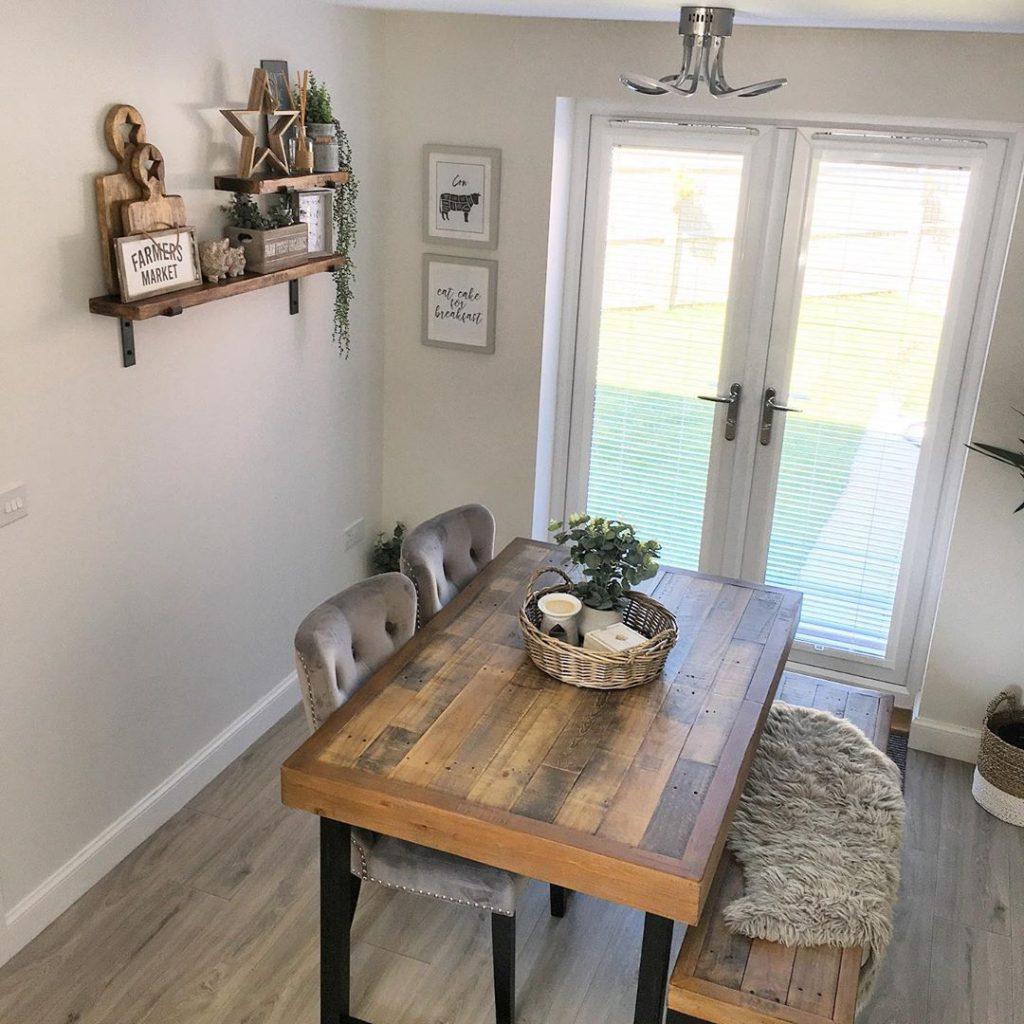 100 Amazing Rustic Farmhouse Design Interior Ideas Suitable For Fall Season 61
