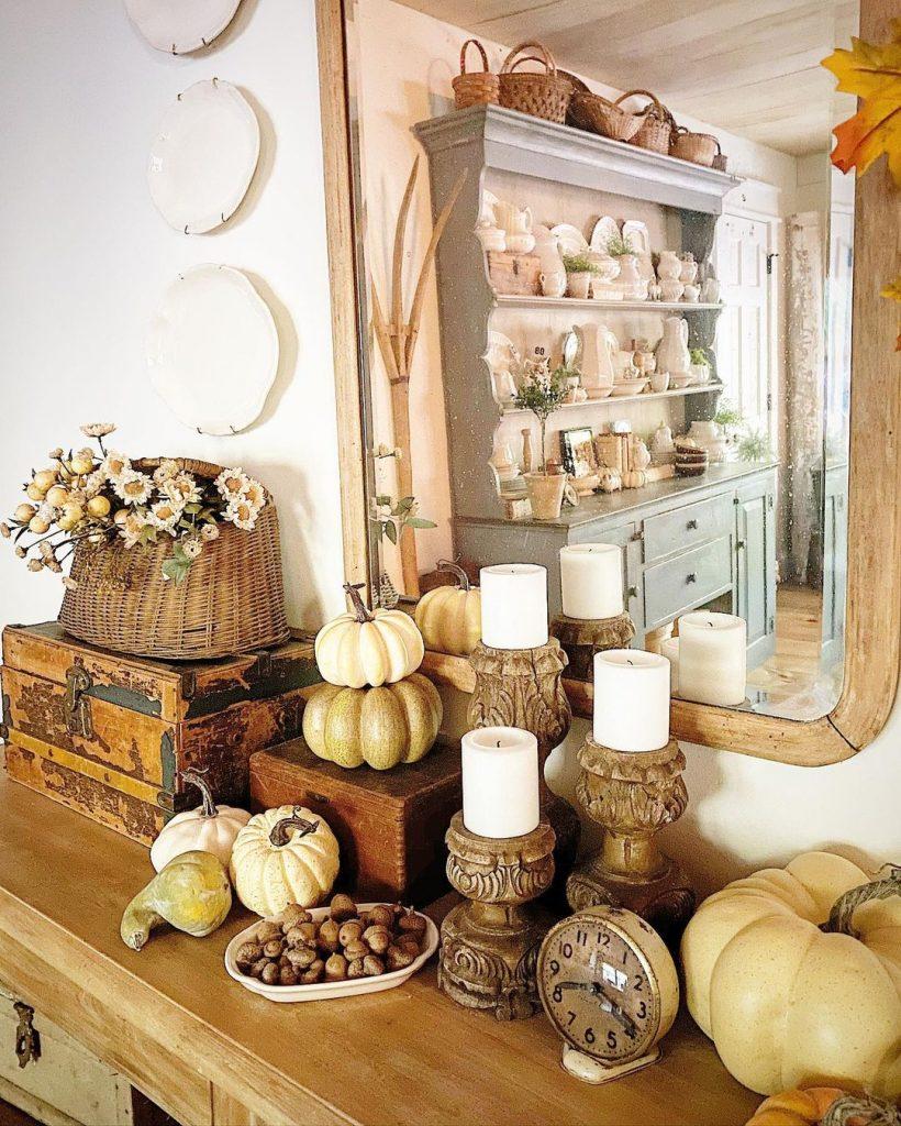 100 Amazing Rustic Farmhouse Design Interior Ideas Suitable For Fall Season 8