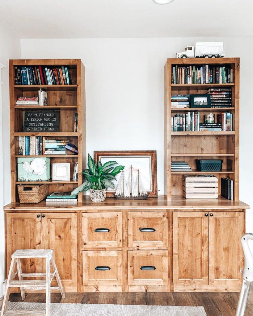 100 Amazing Rustic Farmhouse Design Interior Ideas Suitable For Fall Season 81