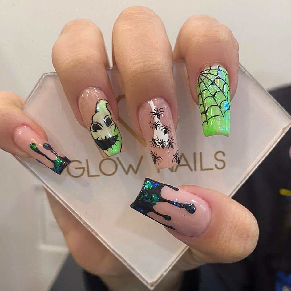 100 Easy Halloween Nails Art Ideas For Your Inspirations 13