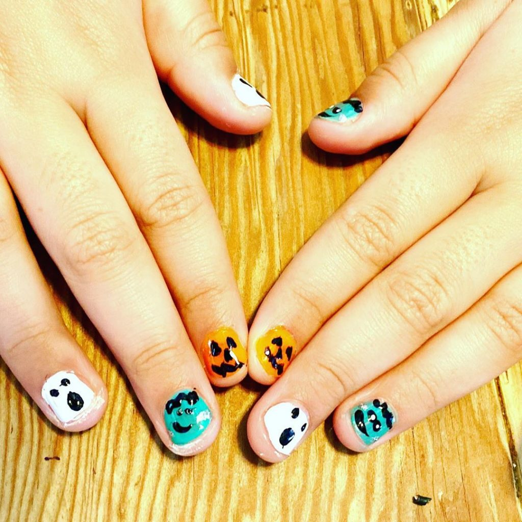 100 Easy Halloween Nails Art Ideas For Your Inspirations 14
