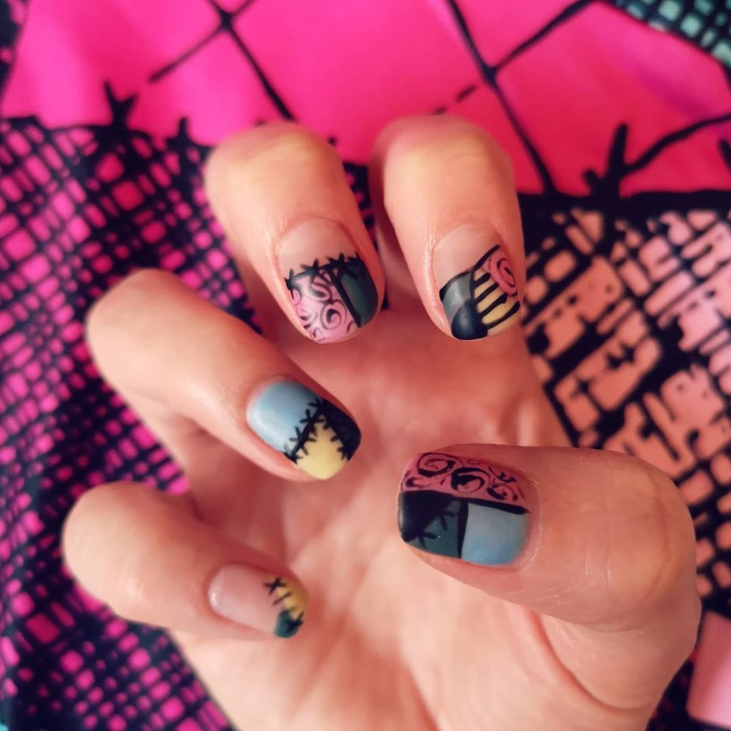 100 Easy Halloween Nails Art Ideas For Your Inspirations 15