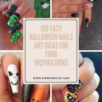 100 Easy Halloween Nails Art Ideas for Your Inspirations