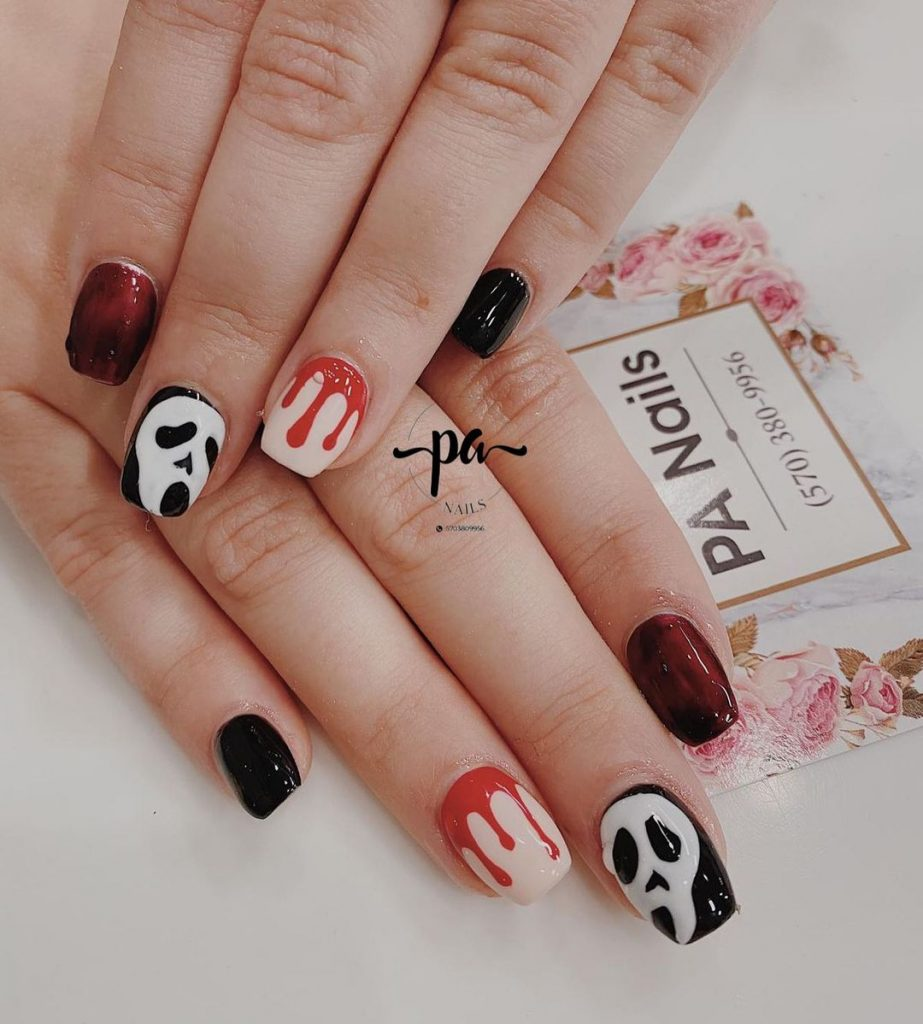 100 Easy Halloween Nails Art Ideas For Your Inspirations 17