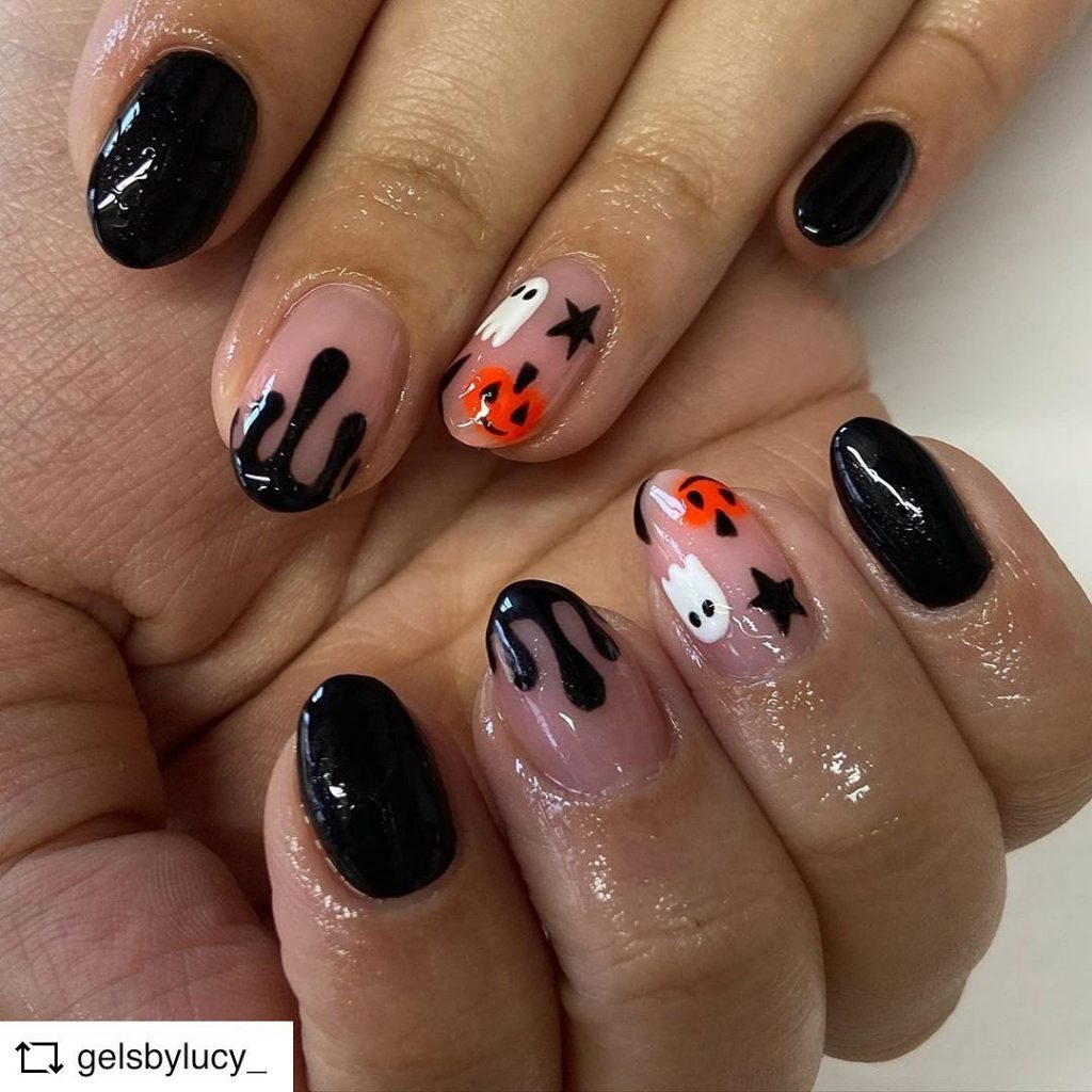 100 Easy Halloween Nails Art Ideas For Your Inspirations 2