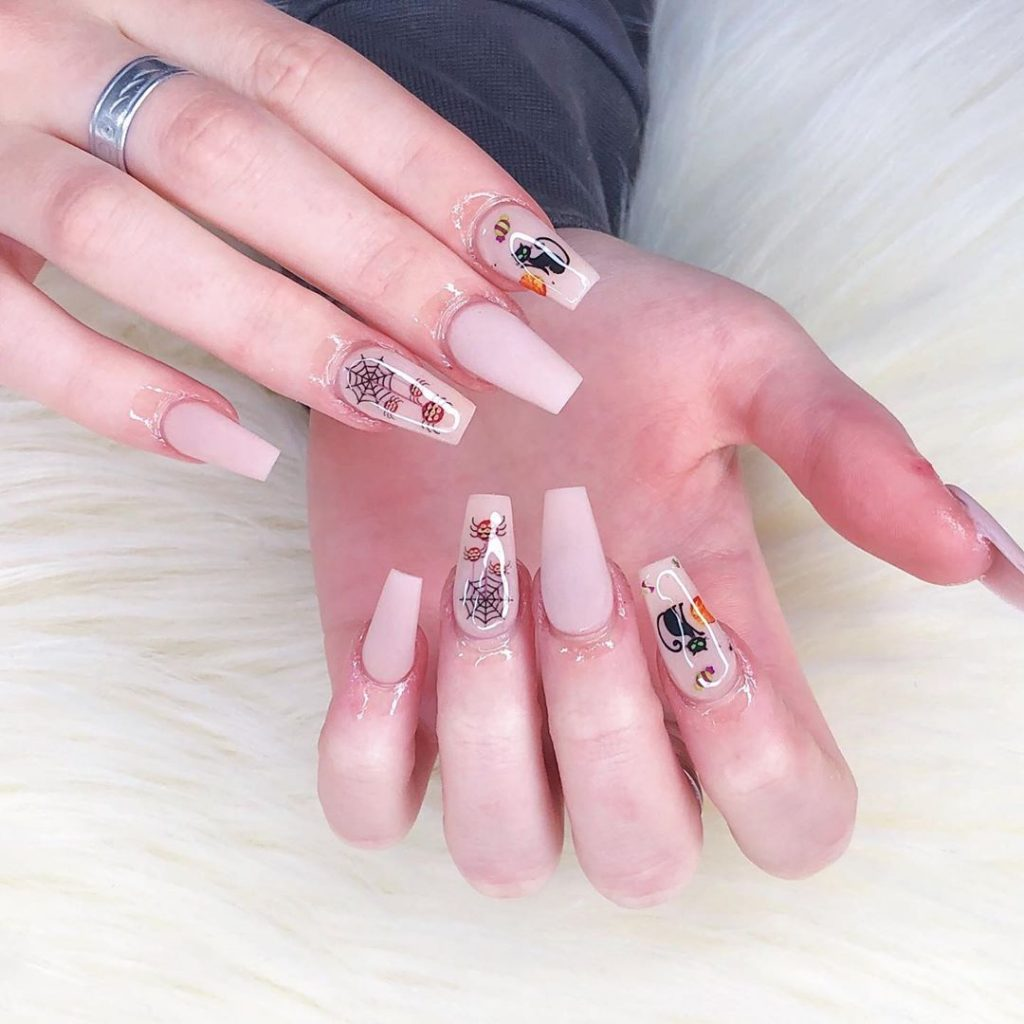100 Easy Halloween Nails Art Ideas For Your Inspirations 20