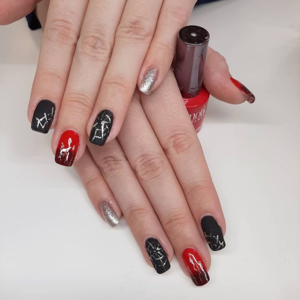 100 Easy Halloween Nails Art Ideas For Your Inspirations 23