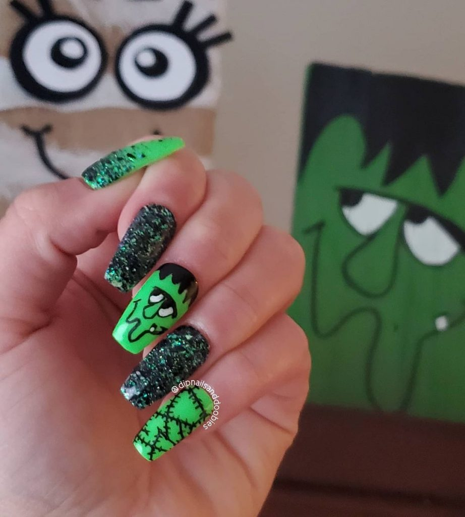 100 Easy Halloween Nails Art Ideas For Your Inspirations 25