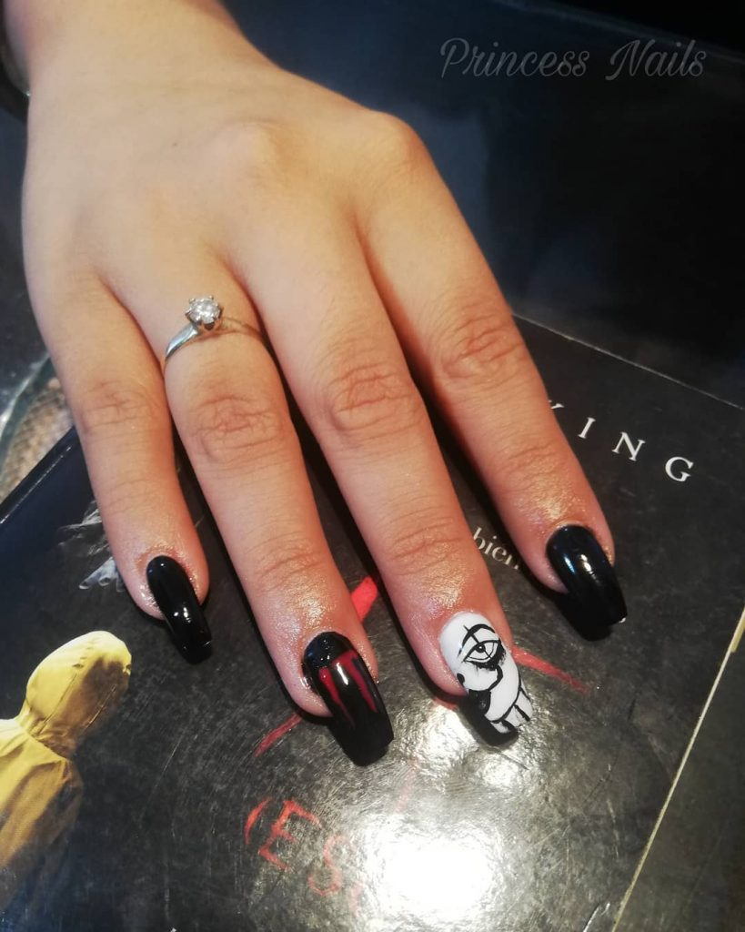 100 Easy Halloween Nails Art Ideas For Your Inspirations 28