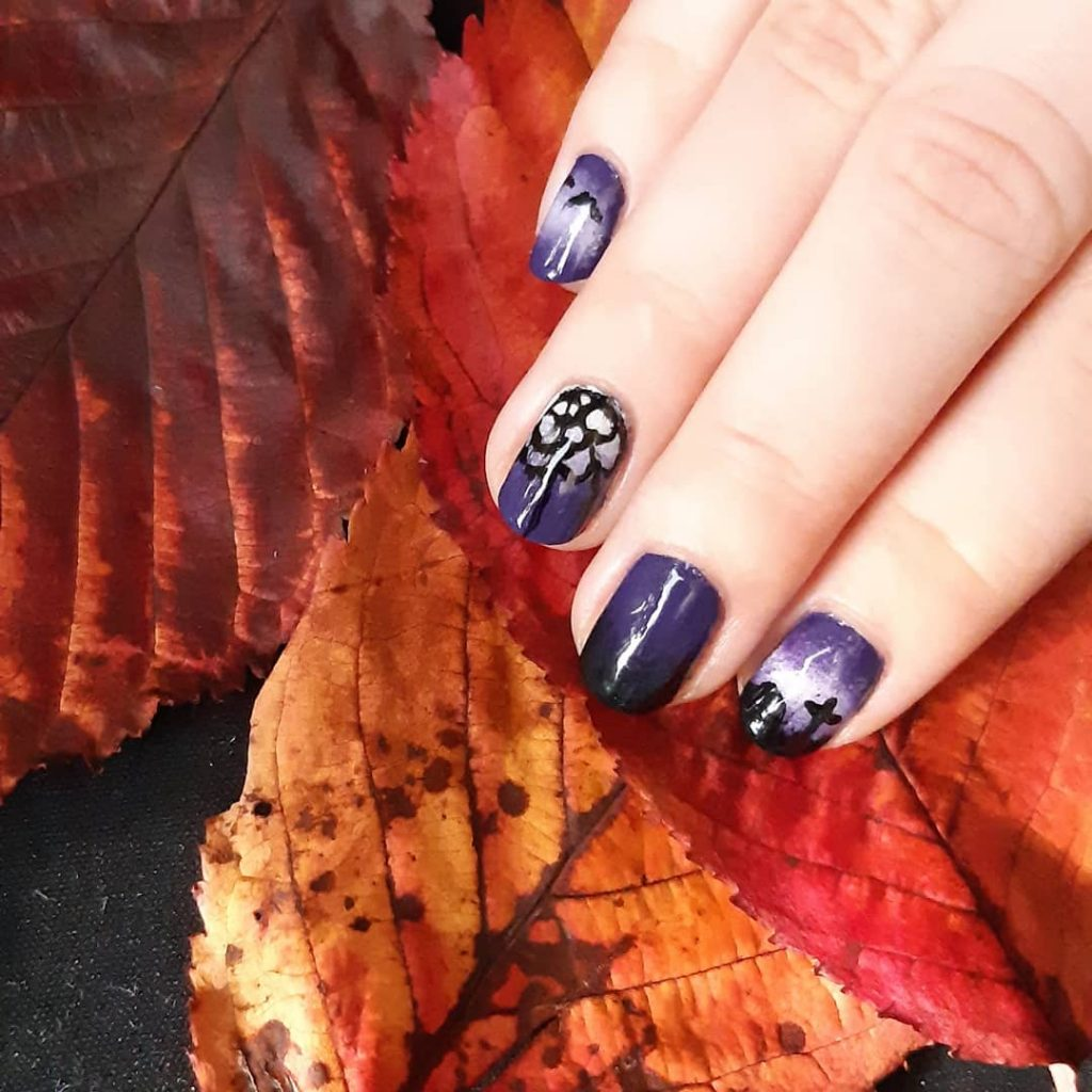 100 Easy Halloween Nails Art Ideas For Your Inspirations 30