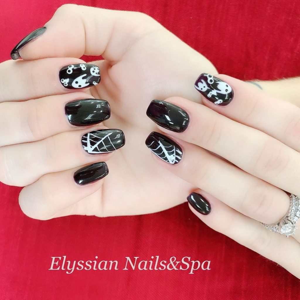 100 Easy Halloween Nails Art Ideas For Your Inspirations 32