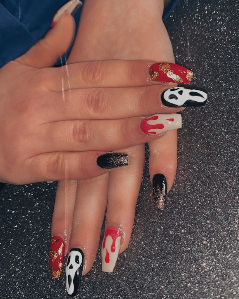 100 Easy Halloween Nails Art Ideas For Your Inspirations 33