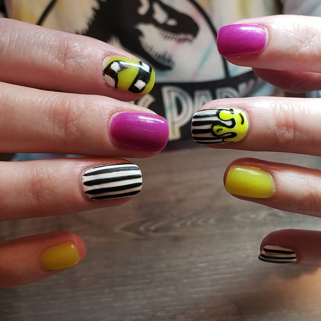 100 Easy Halloween Nails Art Ideas For Your Inspirations 35