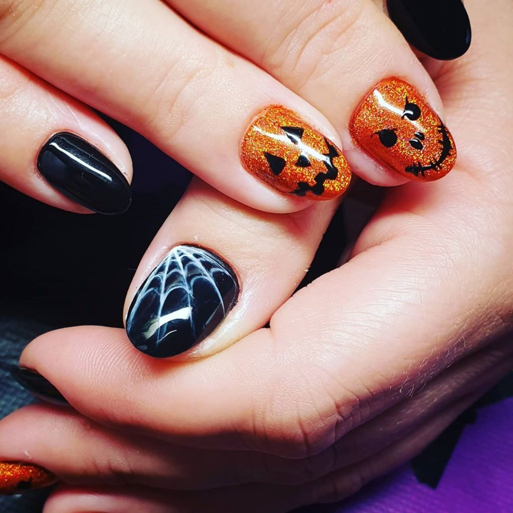 100 Easy Halloween Nails Art Ideas For Your Inspirations 37