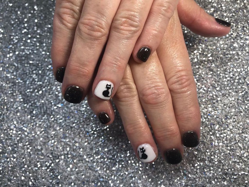 100 Easy Halloween Nails Art Ideas For Your Inspirations 38