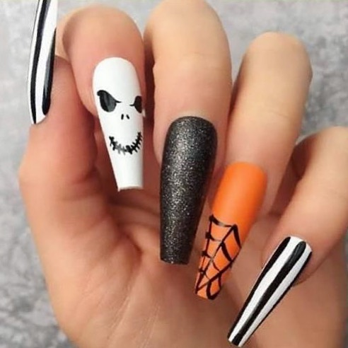 100 Easy Halloween Nails Art Ideas For Your Inspirations 4