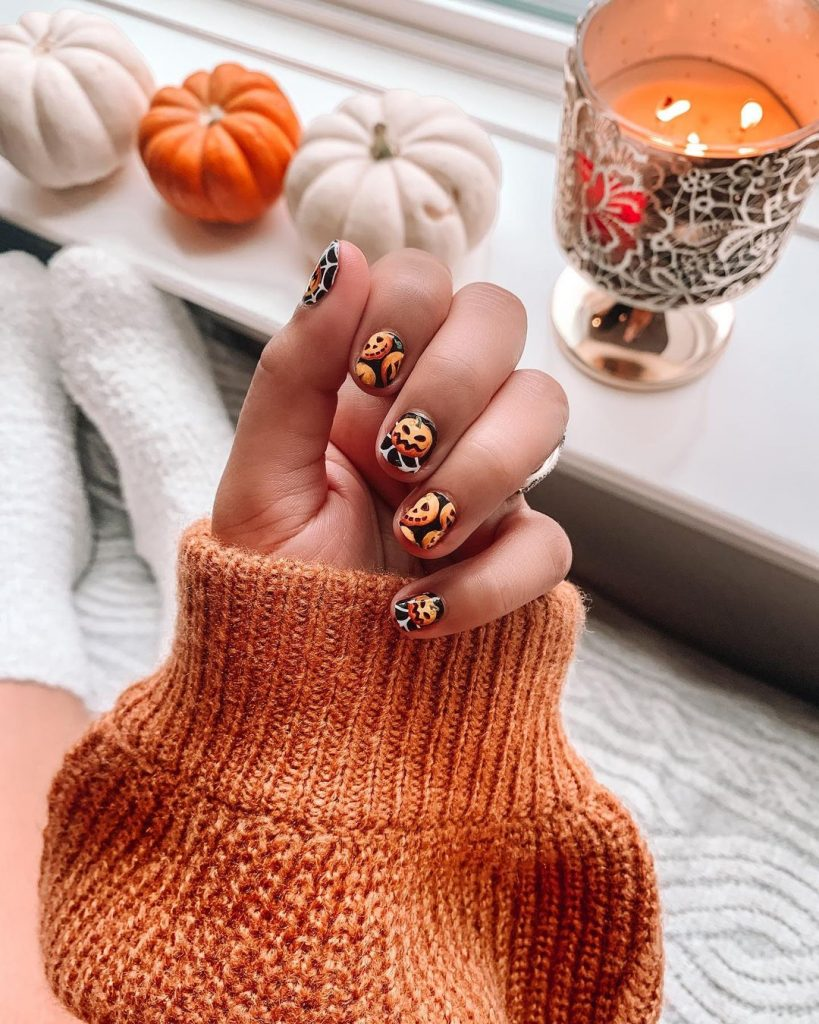 100 Easy Halloween Nails Art Ideas For Your Inspirations 40