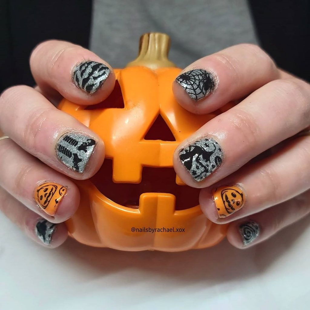 100 Easy Halloween Nails Art Ideas For Your Inspirations 41
