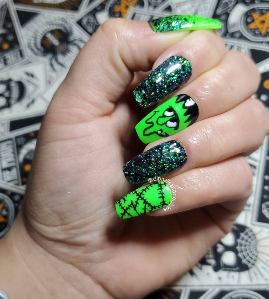 100 Easy Halloween Nails Art Ideas For Your Inspirations 44