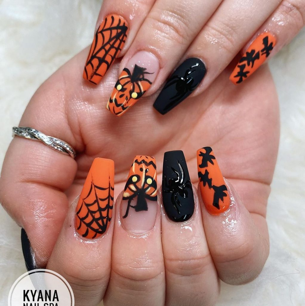 100 Easy Halloween Nails Art Ideas For Your Inspirations 5