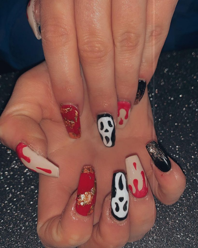 100 Easy Halloween Nails Art Ideas For Your Inspirations 51