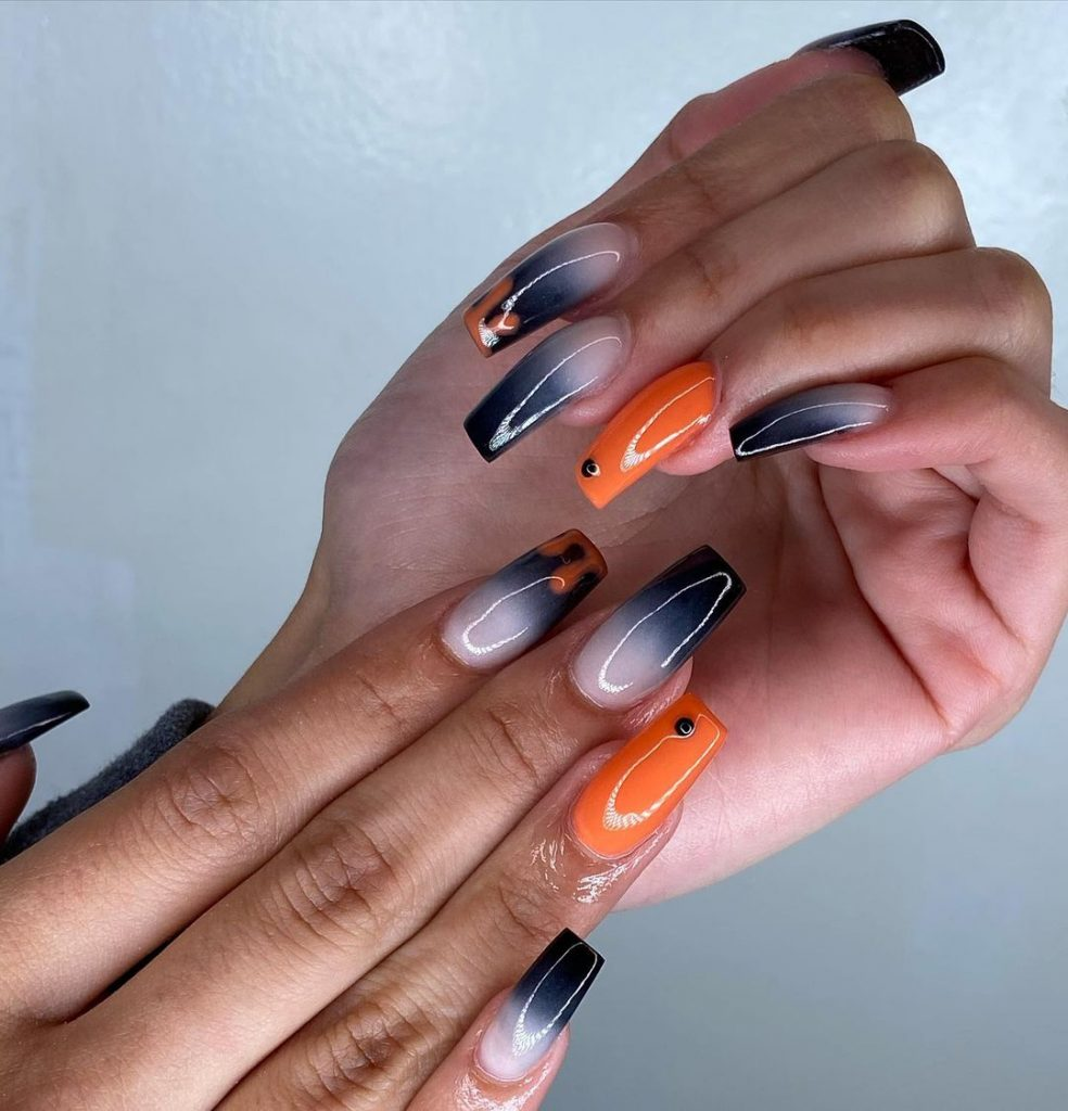 100 Easy Halloween Nails Art Ideas For Your Inspirations 55