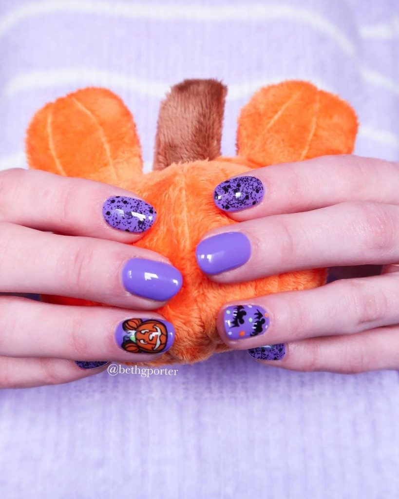 100 Easy Halloween Nails Art Ideas For Your Inspirations 57