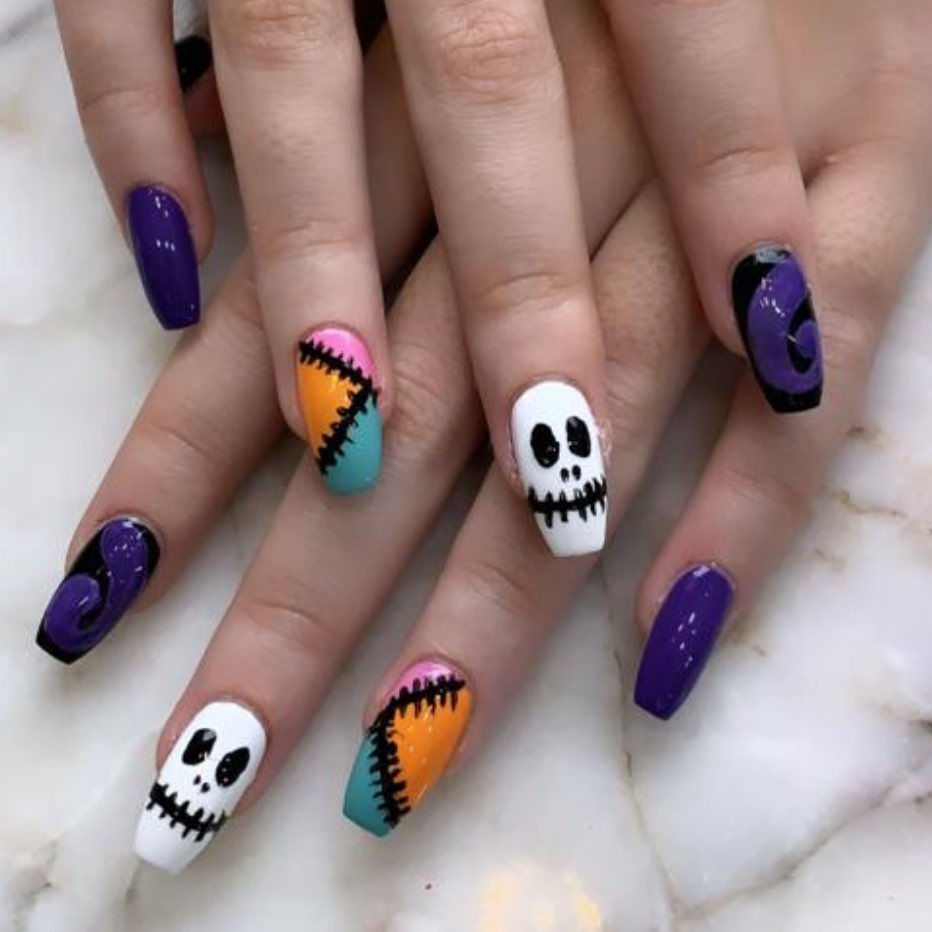 100 Easy Halloween Nails Art Ideas For Your Inspirations 58