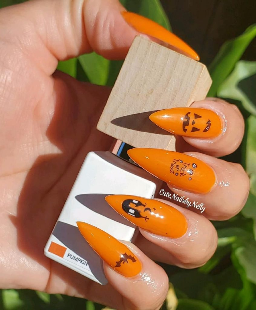 100 Easy Halloween Nails Art Ideas For Your Inspirations 59