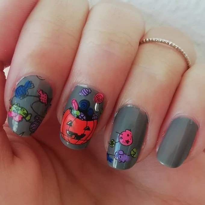 100 Easy Halloween Nails Art Ideas For Your Inspirations 60