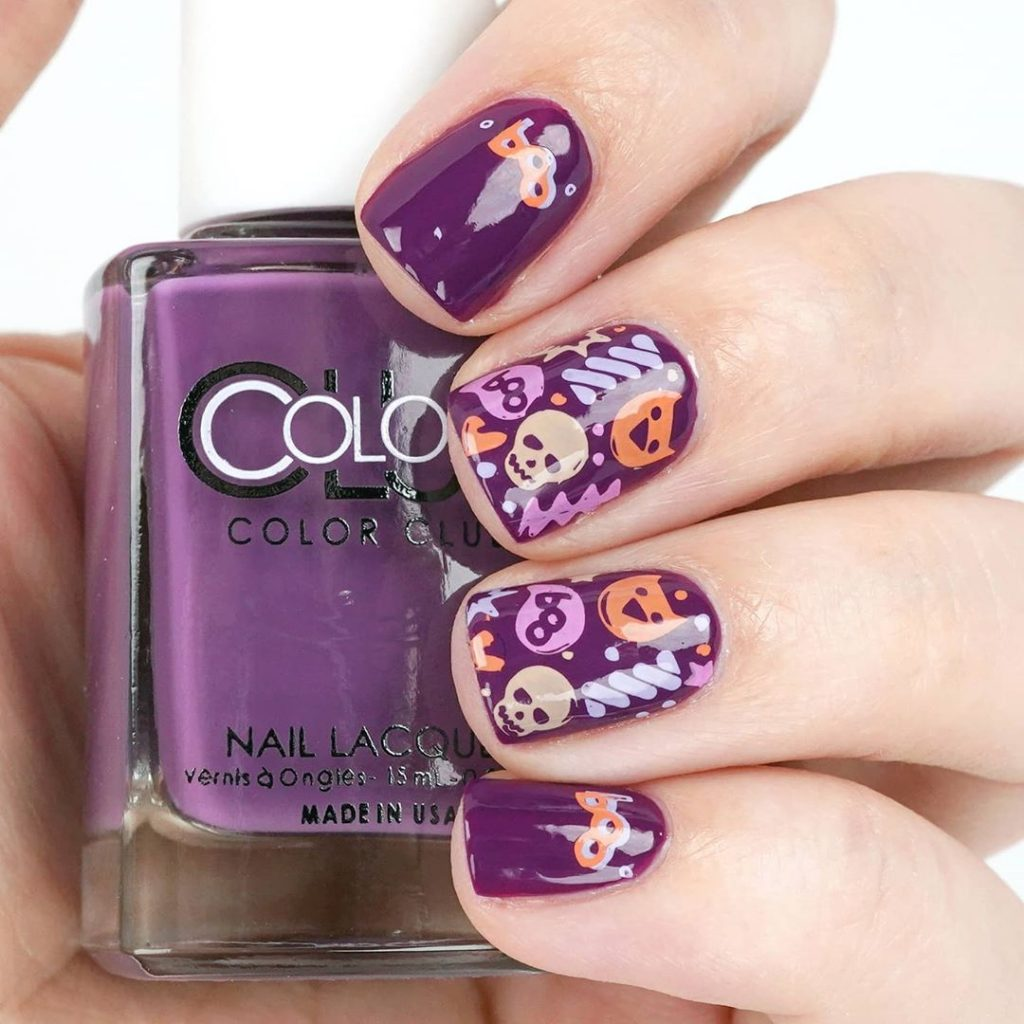 100 Easy Halloween Nails Art Ideas For Your Inspirations 61