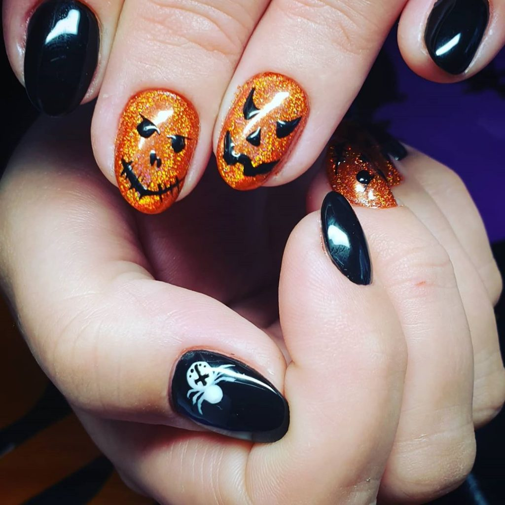 100 Easy Halloween Nails Art Ideas For Your Inspirations 71