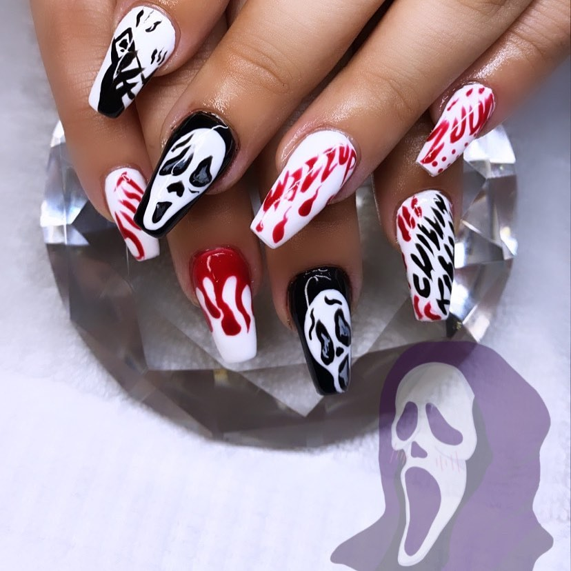 100 Easy Halloween Nails Art Ideas For Your Inspirations 72
