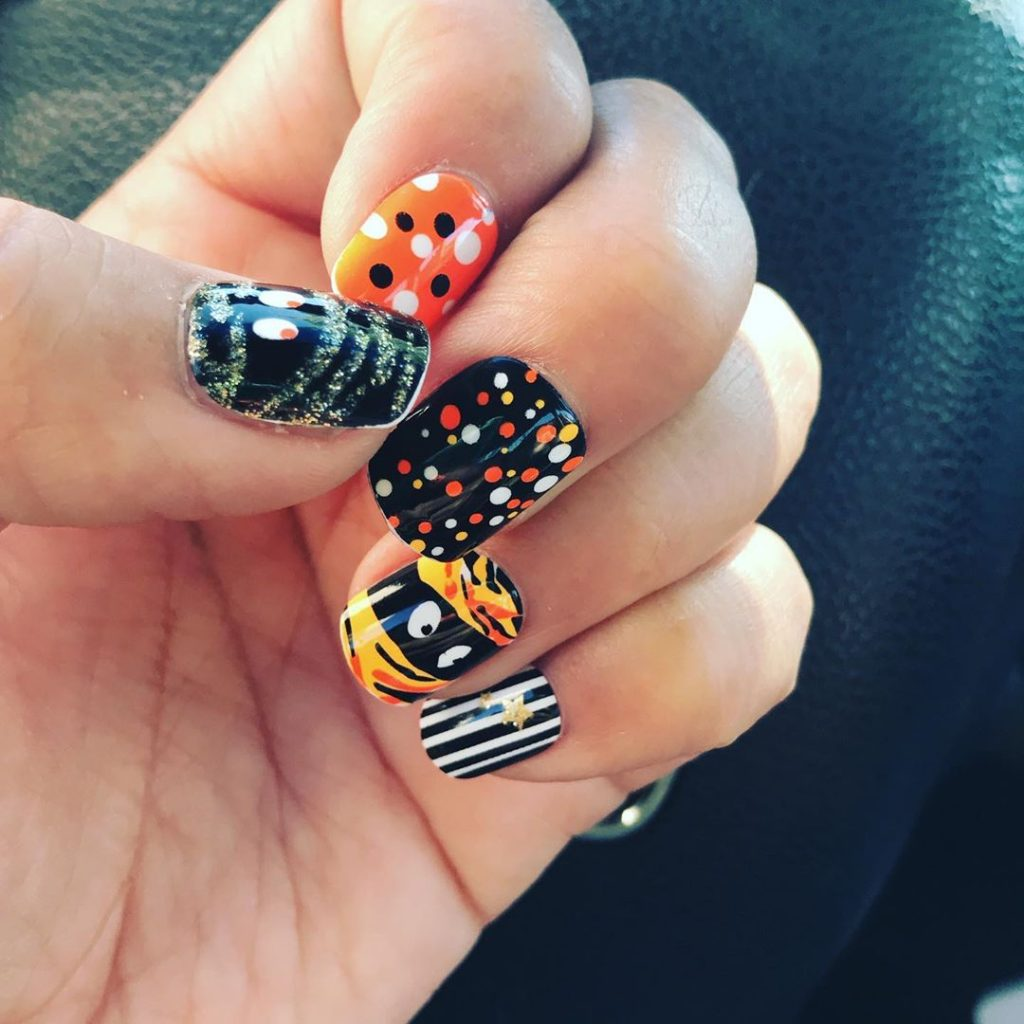 100 Easy Halloween Nails Art Ideas For Your Inspirations 75