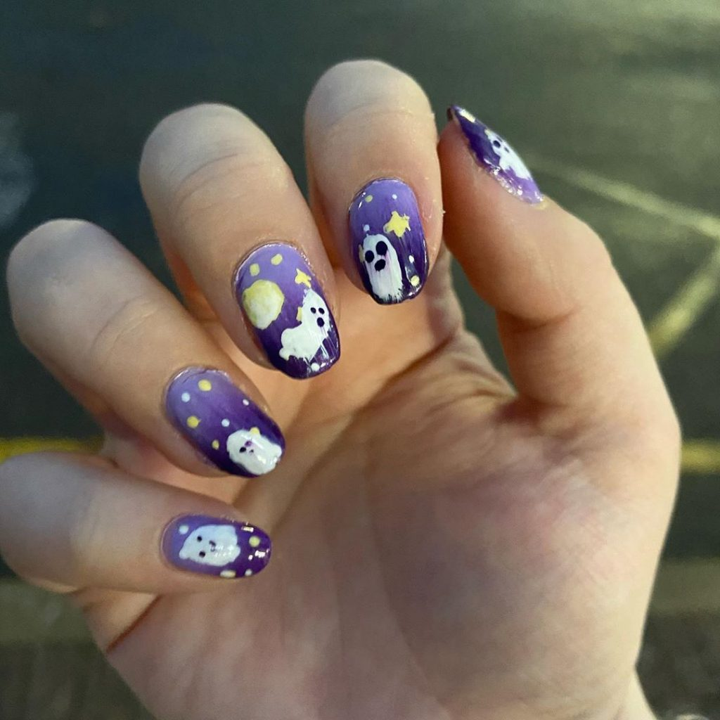 100 Easy Halloween Nails Art Ideas For Your Inspirations 76