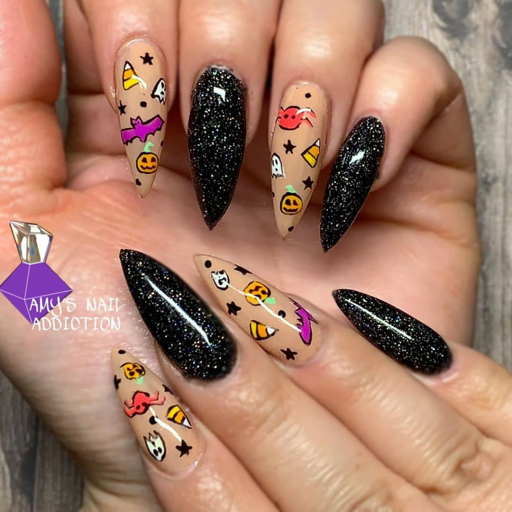 100 Easy Halloween Nails Art Ideas For Your Inspirations 79