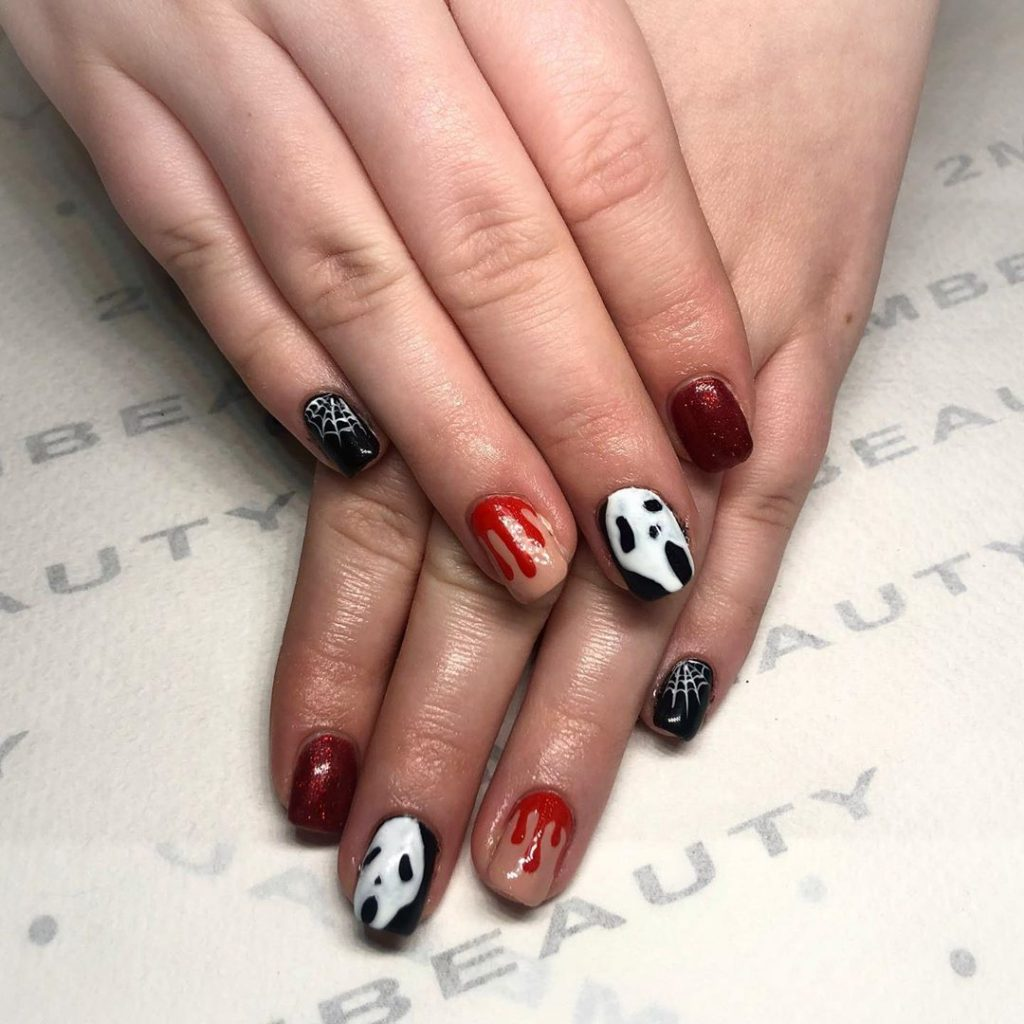 100 Easy Halloween Nails Art Ideas For Your Inspirations 82