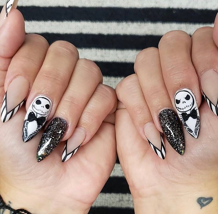 100 Easy Halloween Nails Art Ideas For Your Inspirations 84