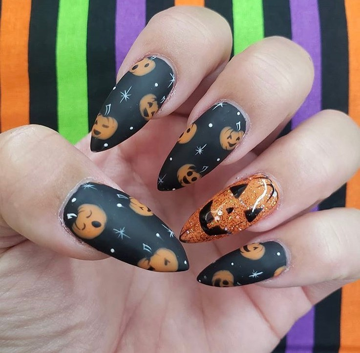 100 Easy Halloween Nails Art Ideas For Your Inspirations 86
