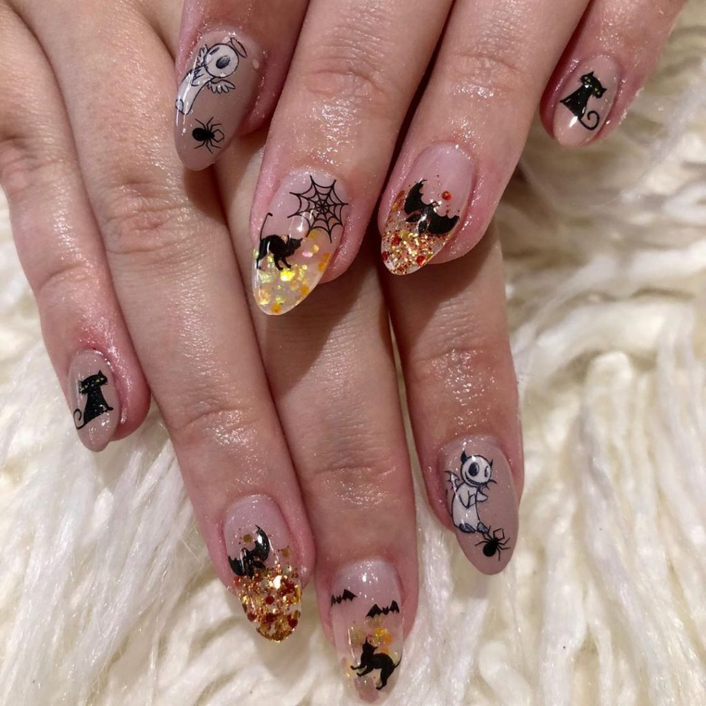 100 Easy Halloween Nails Art Ideas For Your Inspirations 87